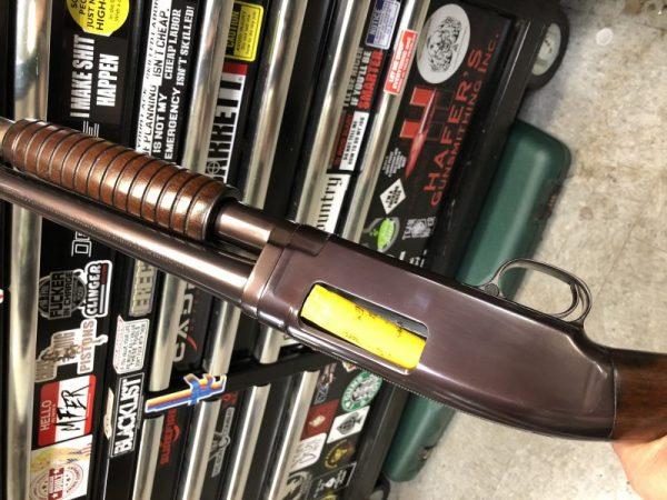 Gunsmithing Model 12 Winchester